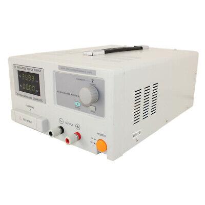 0-40 Volt 0-10 Amp Dc Bench Power Supply W Adjustable Current Limiting Item C