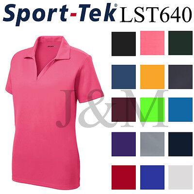 Sport Tek LST640 Womens Dri-Fit Performance Polo Casual Golf Shirt Dry (Lst Shirt)
