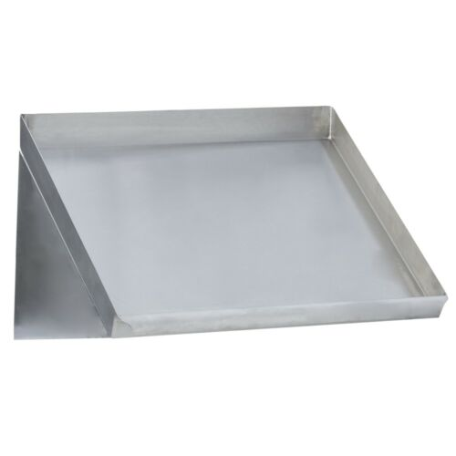 Stainless Steel Commercial Slant Rack Shelf 22X20