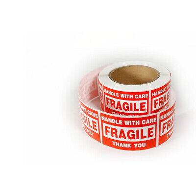 Pf Tech Fragile Notice Shipping Labels 2x3. 2000pcs 4 Roll
