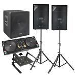 Vonyx 2.1 complete live set 1100 watt met Power Dynamics