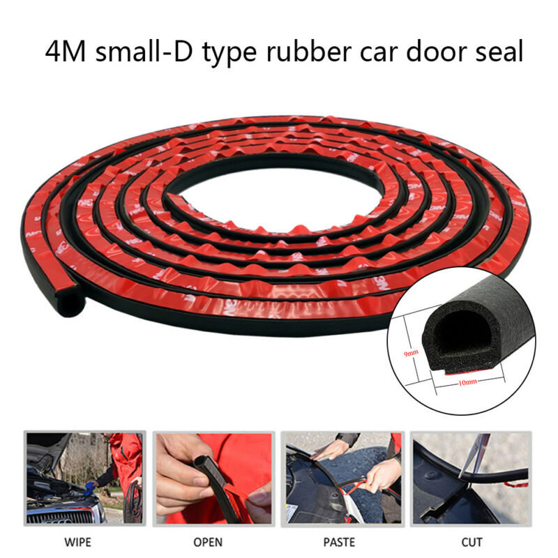 Car Parts - 13FT 4M Shape Car Truck Door Rubber Weather Seal Hollow Strip Trim Weatherstrip