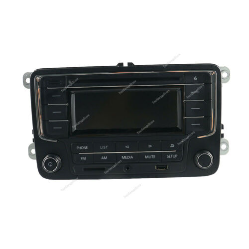 Autoradio RCN210 Bluetooth CD USB AUX SD #56D035185 Für VW Golf Jetta Touran