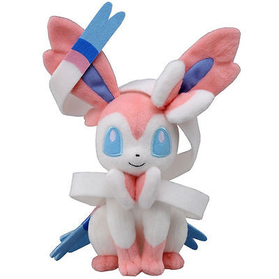 "Hot  8"" Sylveon Pokemon Cute Soft Plush Toy Doll Kids Xmas Gift"
