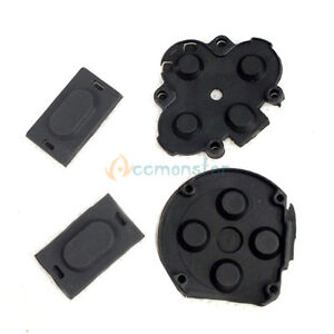 Replacement Repair Rubber Button Switch Pad Set for Sony PSP 1000