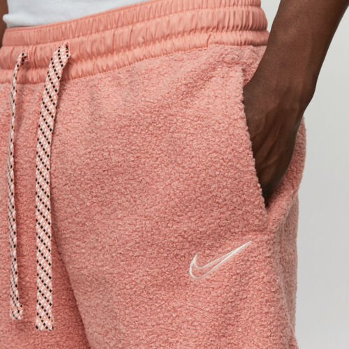 NIKE DNA COZY FLUFFY BASKETBALL SHORTS SIZE MEDIUM RARE BV9383 606