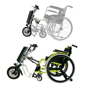 Wheelchair Folding Electric Handcycle DIY Wheel Chair Conversion Kit