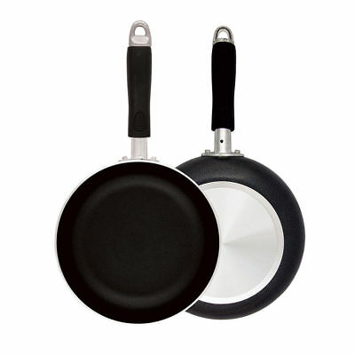 Better Chef 8 Inch Aluminum Fry Pan -  Black Color - Non-Stick Surface