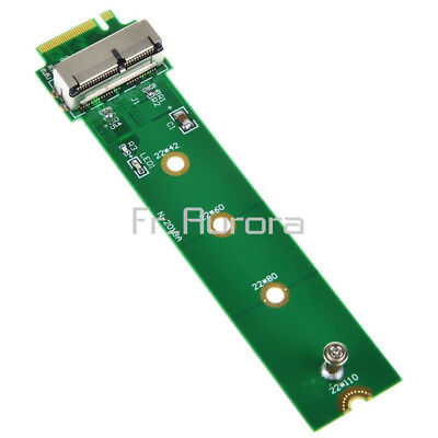 M.2 NGFF X4 Adapter Card To 2013 2014 2015 Apple MacBook Air A1465 A1466 SSD