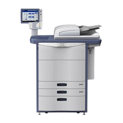 Toshiba E-studio 6560c Color Printer Scanner Copier 65 Ppm Laser Tabloidledger