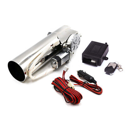 """2.5"""" Inch Electric Exhaust Catback Downpipe Cut Valve System Wireless Remote Kit"""