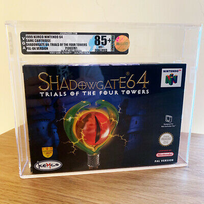 Shadowgate for Nintendo 64 (N64) - Gold Graded VGA (Mint 90) RARE UKV