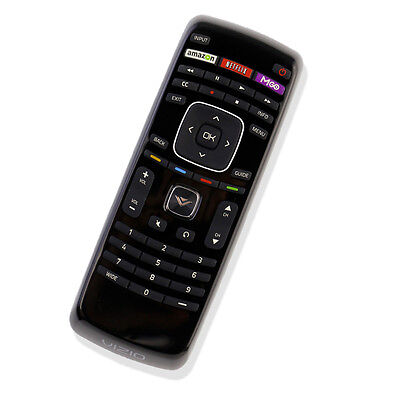 XRT112 Internet Smart TV Remote Control With M-GO Netflix Amazon Key for Vizio