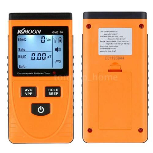 Digital LCD EMF Meter Detector for Electric Magnetic Field Test Household Tester