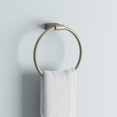 Bleu Wall Mounted Towel Ring, Towel Ring, Modern, Wall Mount