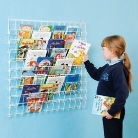 Wire Wall Mounted Book Rack