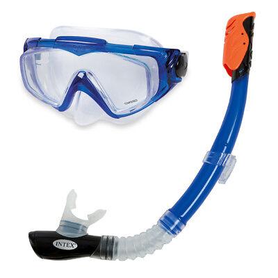 Schnorchelset Silicon Aqua Pro Tauchmaske Taucherbrille + Schnorchel von INTEX
