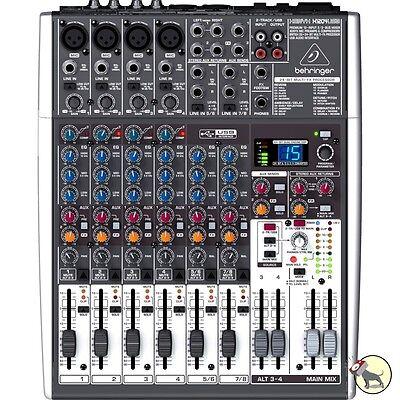 Behringer Xenyx X1204USB Premium 12-Input 2/2-Bus Mixer
