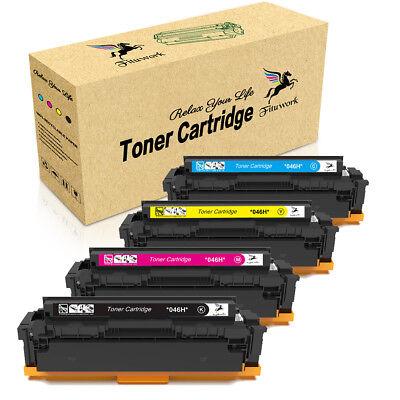 4x 046 H Toner Cartridge for Canon Color imageCLASS MF733Cdw MF731Cdw LBP-654Cdw