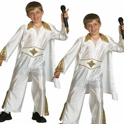 Elvis Presley Jungen Kostüm Kinder Rock n Roll - Kinder Star Outfit