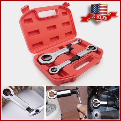 Nut Splitter Breaker 4x Set 9-12mm 12-16mm 16-22mm 22-27mm Cracker Removeing Kit