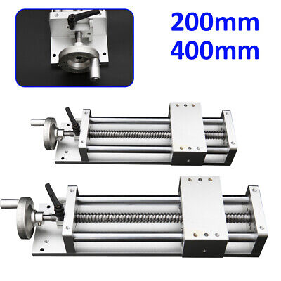 Manual Cross Sliding Table 400mm Linear Rail Slide Stage Actuator Table Cnc Mill