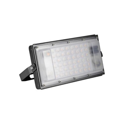 US Plug 8Pcs LED Outdoor Flood Light 100Watt Warm White Spot Security Fixtures