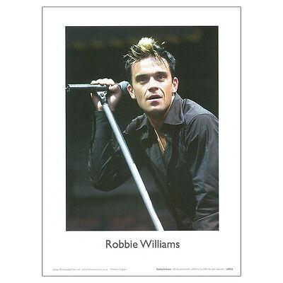 Robbie Williams -  30 x 21cm print