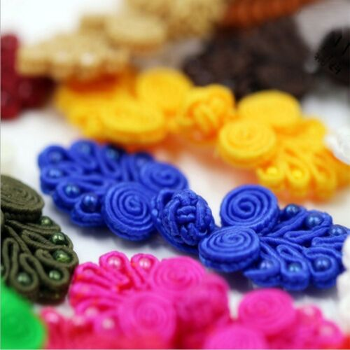 Buttons Closure Ribbon Pankou For Tang Suit Chinese Knot Frog Handmade