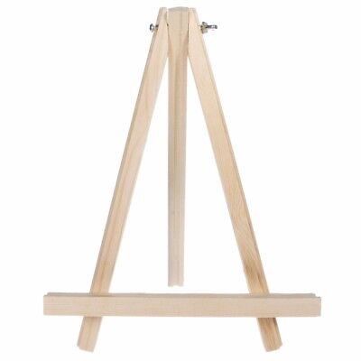 - Mini Wooden Tripod Easel Display Painting Stand Card Canvas Holder Wedding Party