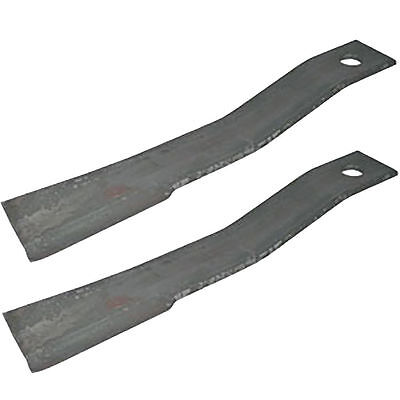 2 Bush Hog Blades 7556 7556bh For Bh26 Sq172 Sq72-4 Sq720 1206 1256 206 256