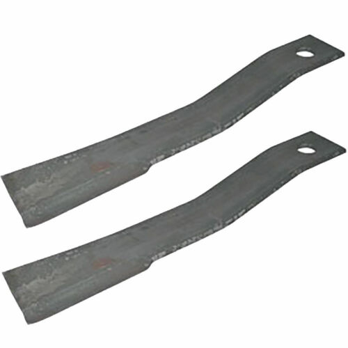 2)  BUSH HOG BLADES 7556 7556BH FOR BH26 SQ172 SQ72-4 SQ720 1206 1256 206 256 ++
