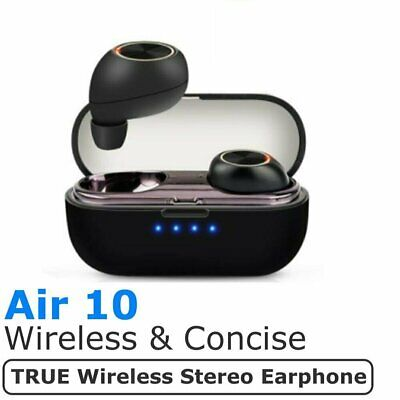 Mini TWS True Wireless Bluetooth Air10 Sport In-Ear Earphones Headset Earbuds
