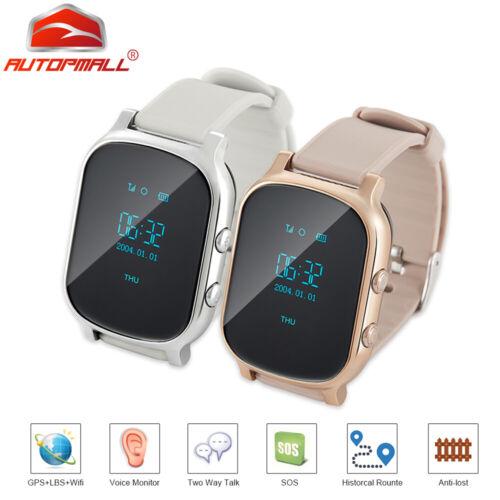 gps wifi tracker smart watch kids personal