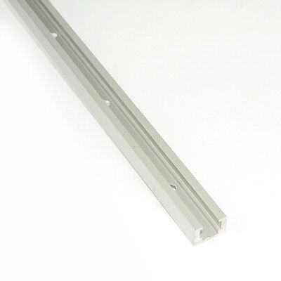 19816 Double-Cut Profile Universal T-Track with Predrilled Mounting Holes -
