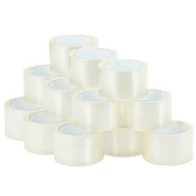36 Rolls Shipping Packaging Packing Box Sealing Tape 2.0 Mil 2 X 55 Yard 165ft
