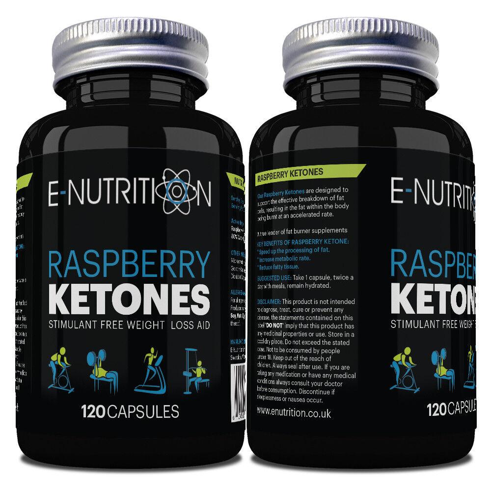 Raspberry Ketone 120 Capsules Not Tablets 1000mg Rasberry