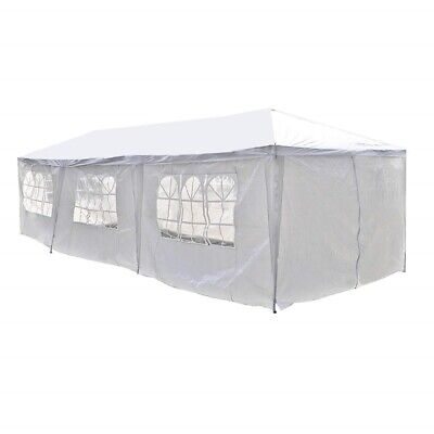 Used, ALEKO Portable Garage Carport Car Shelter Party Tent Canopy 30 x 10 Ft White for sale  Shipping to South Africa