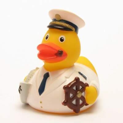 Patito de baño capitán Patito de goma