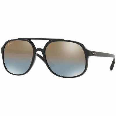 Ray Ban Sunglasses w/Chromance Gradient Polarized Mirror Lens RB4312CH (Gradient Polarized Lenses)