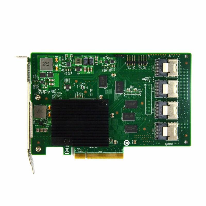 LSI 9201-16i 6Gbps 16P SAS HBA P19 IT Mode ZFS FreeNAS unRAID