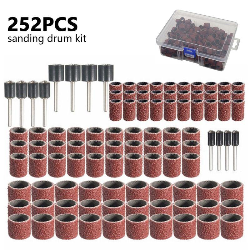 252X Drum Sanding Kit For Nail Drill Bits Dremel Accessories