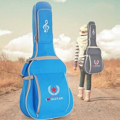 New Padded Guitar Bag Pockets Gig Case for 41Inchs Acoustic Classic Folk Guitar