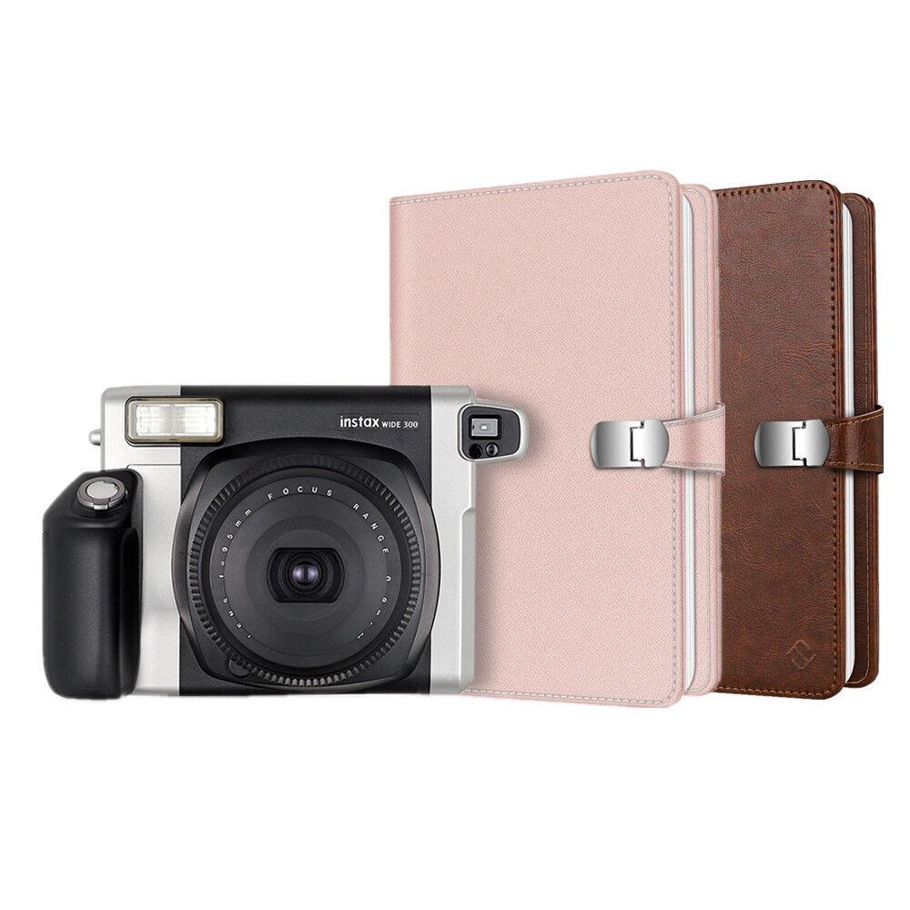 64 Pockets Wallet Photo Album for Fujifilm Instax Wide 300 /