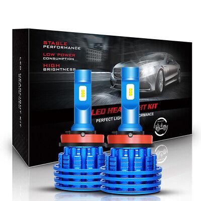 H11 LED Low Beam Headlight Fog Lights Car Bulbs Kit High Power 6500k White H8 H9