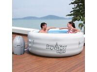 Lay Z Spa Vegas Stunning 6 Person Air Jet Massage Hot Tub Spa In Stock - Free Local Delivery