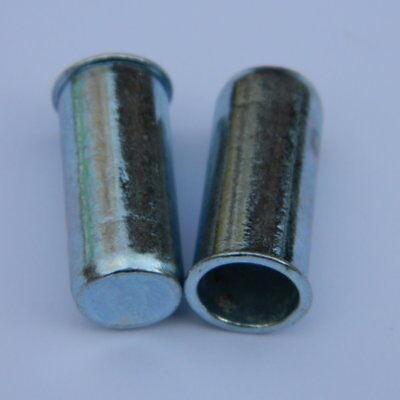 Blindnietmuttern M8 Stahl verzinkt Senkkopf glatt klemmt 1,7-4,5mm 100 Stk