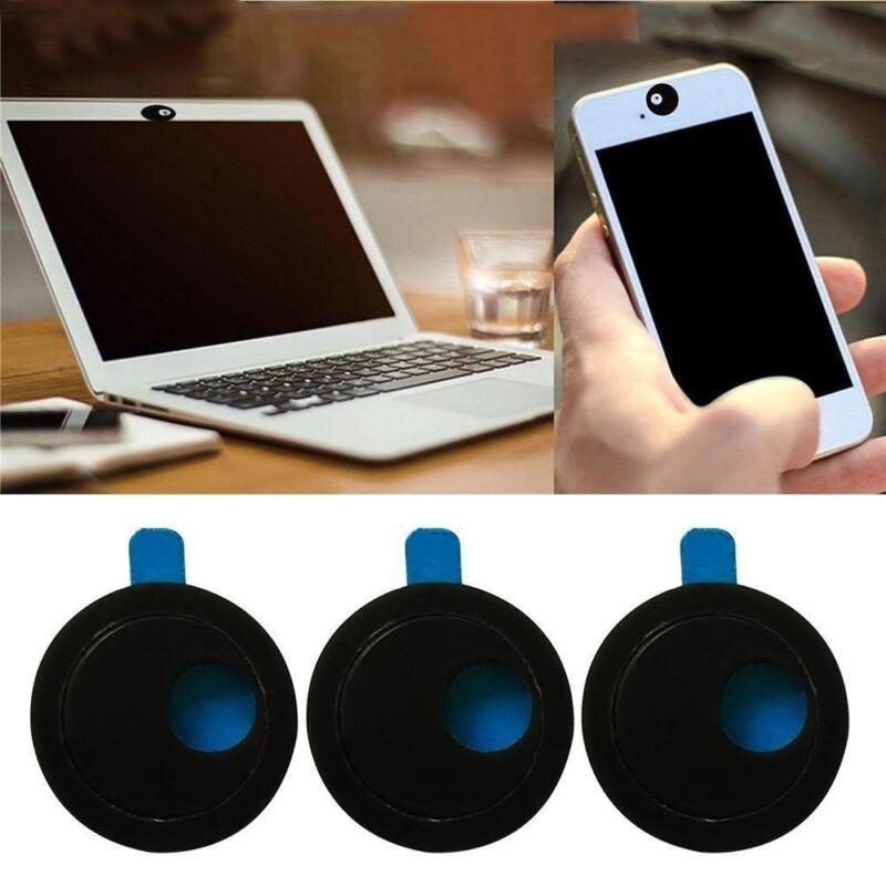 3pcs Webcam Cover Slim Slider Camera Shield Privacy Protect Sticker For Laptop P