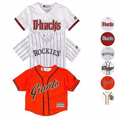 MLB Majestic Home Away Alt Replica Cool Base Team Jersey Infant SZ 12-24 Months (Mlb Majestic Jersey)