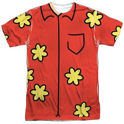Family Guy Quagmire Costume Outfit Uniform Sublimation Allover Front T-shirt top - Family Guy Costume